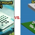 Comparison between shielding-can directly mount and shielding-clip/frame